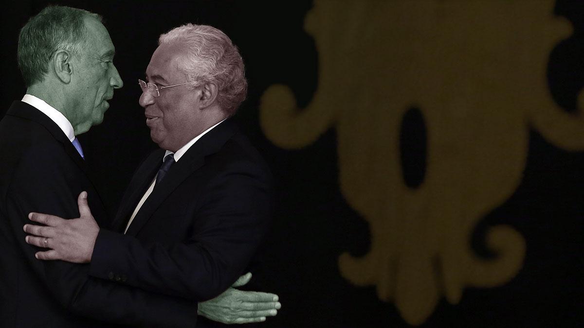 Marcelo Rebelo de Sousa e António Costa