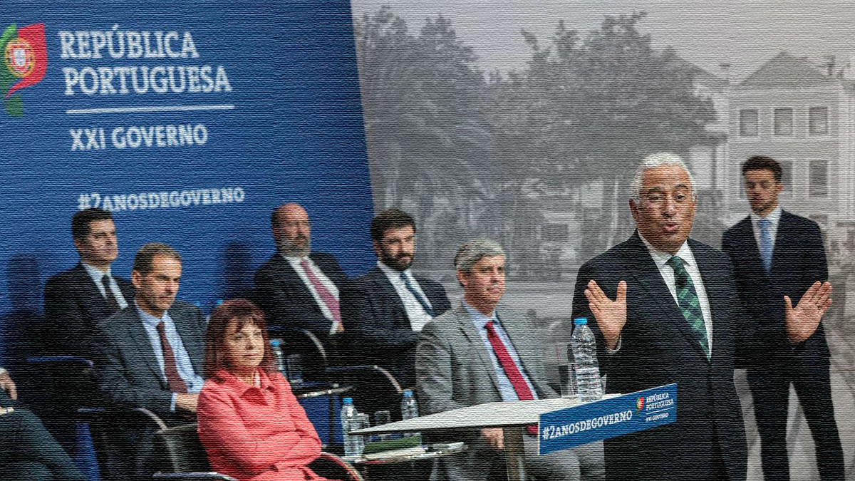 """O governo de António Costa a """"meter os pés pelas mãos"""""""