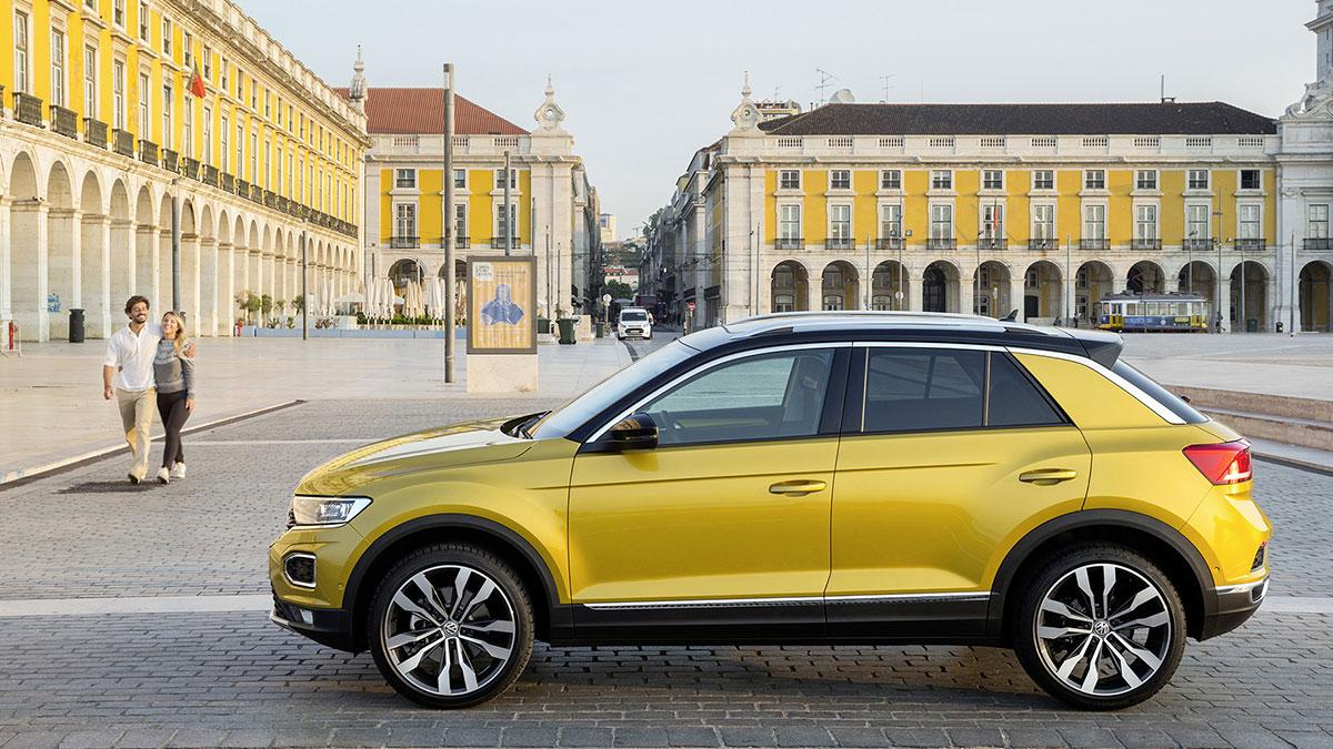Volkswagen T-Roc | testes de colisão