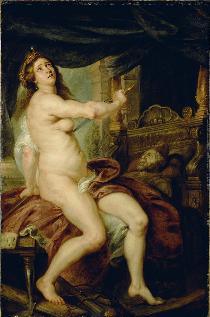 """Death of Panthea"", por Peter Paul Rubens"