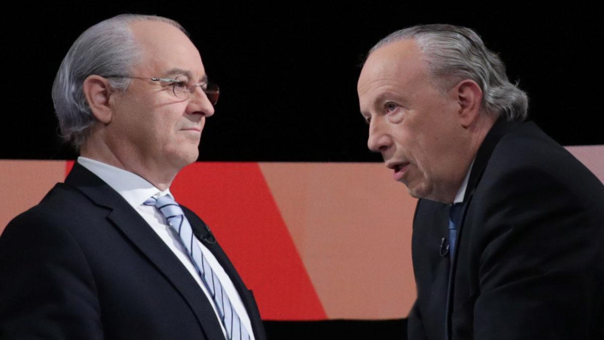 Debate: Rui Rio e Pedro Santana Lopes