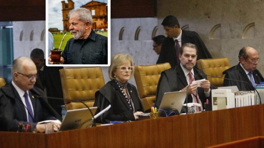 Lula tem primeira vitória no Supremo Tribunal Federal