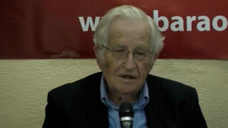 Ao vivo: Noam Chomsky fala a bloguers e meios de informação alternativos