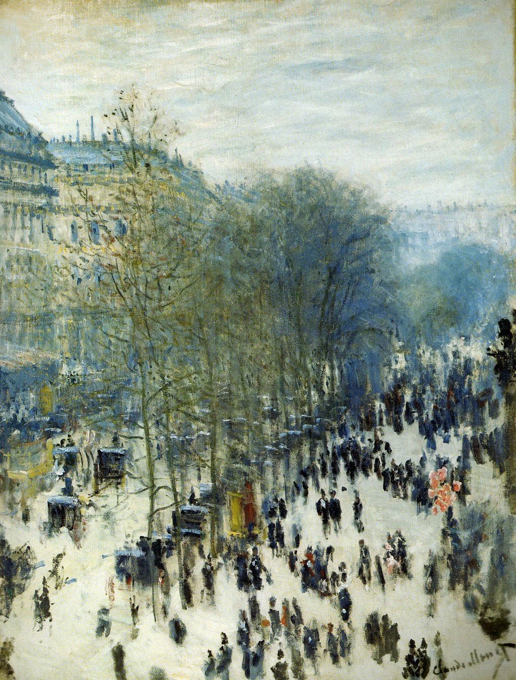 Boulevard des Capucines, Claude Monet