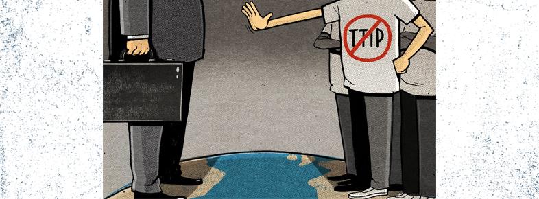 Não ao TTIP pela porta das traseiras!