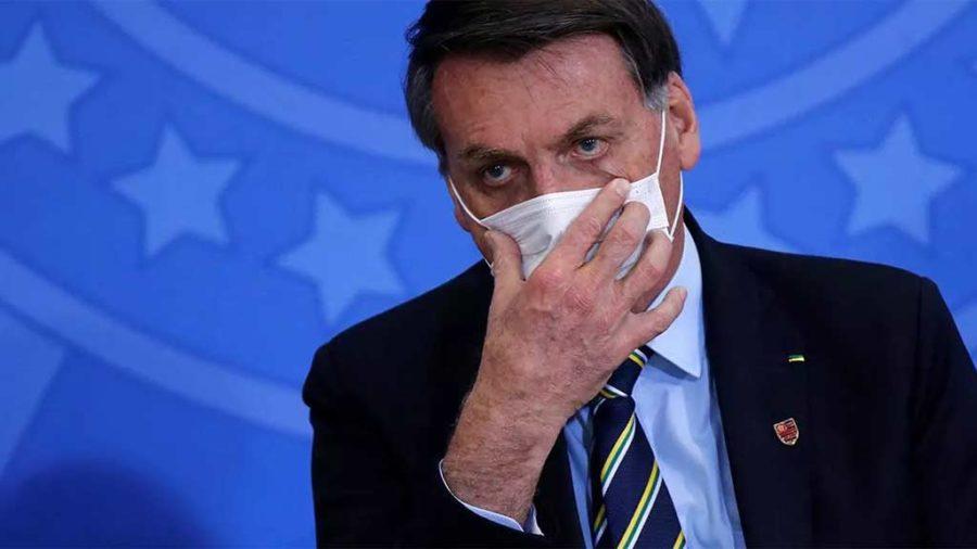 Contaminação de Bolsonaro é um exemplo aos que não usam máscara