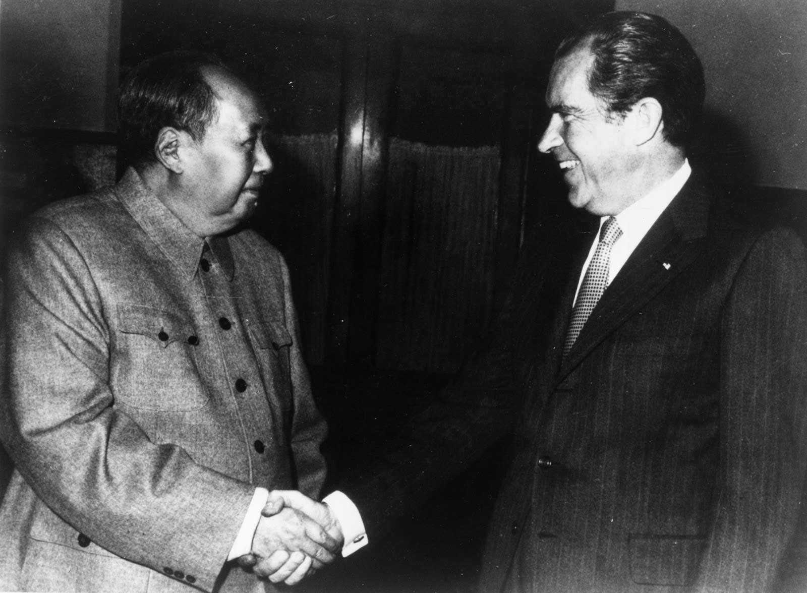 Nixon e Mao Tsé-tung