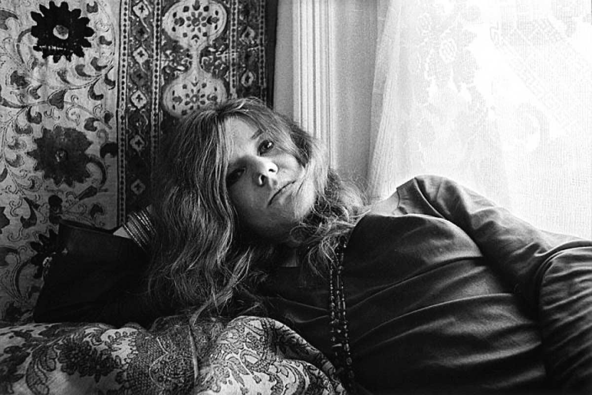 Janis Joplin por Baron Wolman