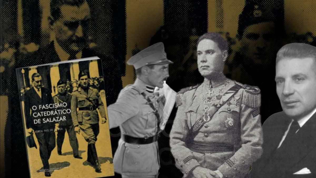 Jorge Pais de Sousa e os militares alunos de Salazar